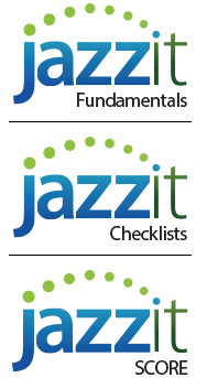 Jazzit Fundamentals, Checklists, SCORE