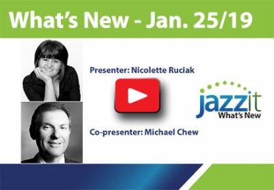 What's New Webinar - Jan. 25, 2019