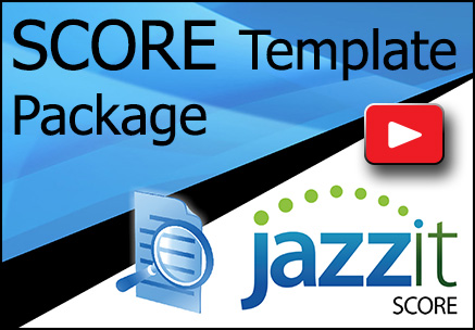 Jazzit SCORE Template Package