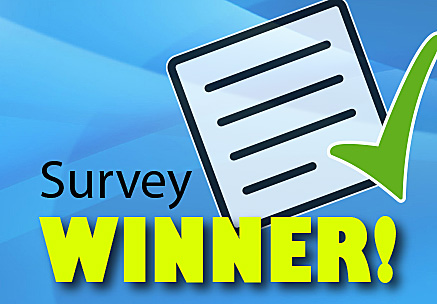 Survey Winner